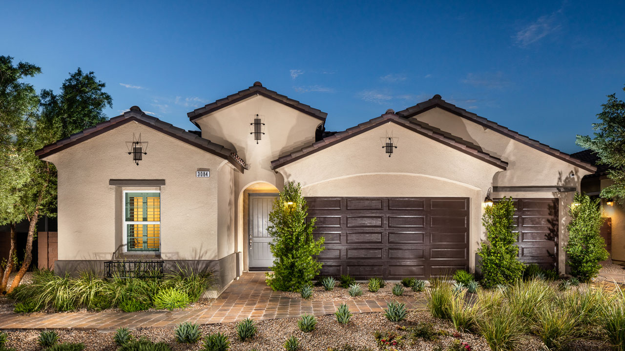 Front Elevation Homes : Inspirada toll brothers new homes las vegas