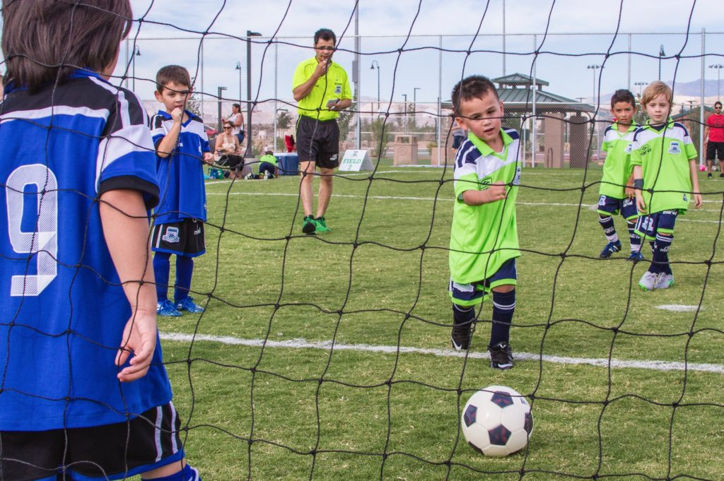 Henderson Parks Aventura soccer players