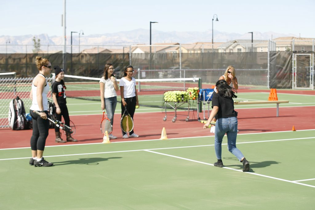 Henderson Parks Tennis at Capriola