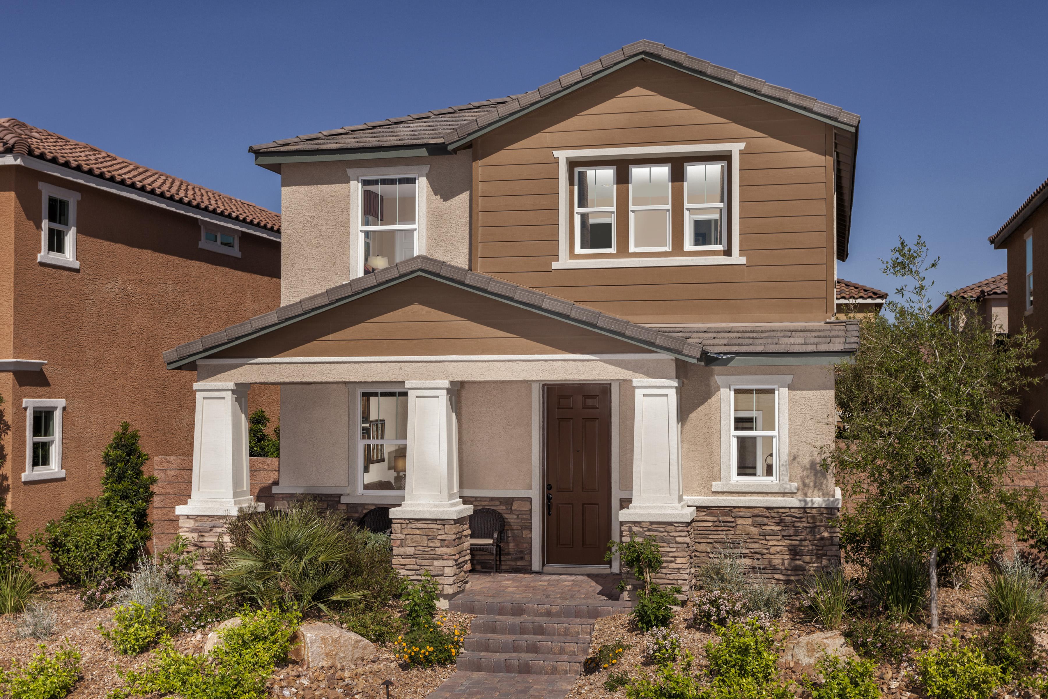 New homes inspirada henderson nv homemade ftempo for Kb homes design center las vegas