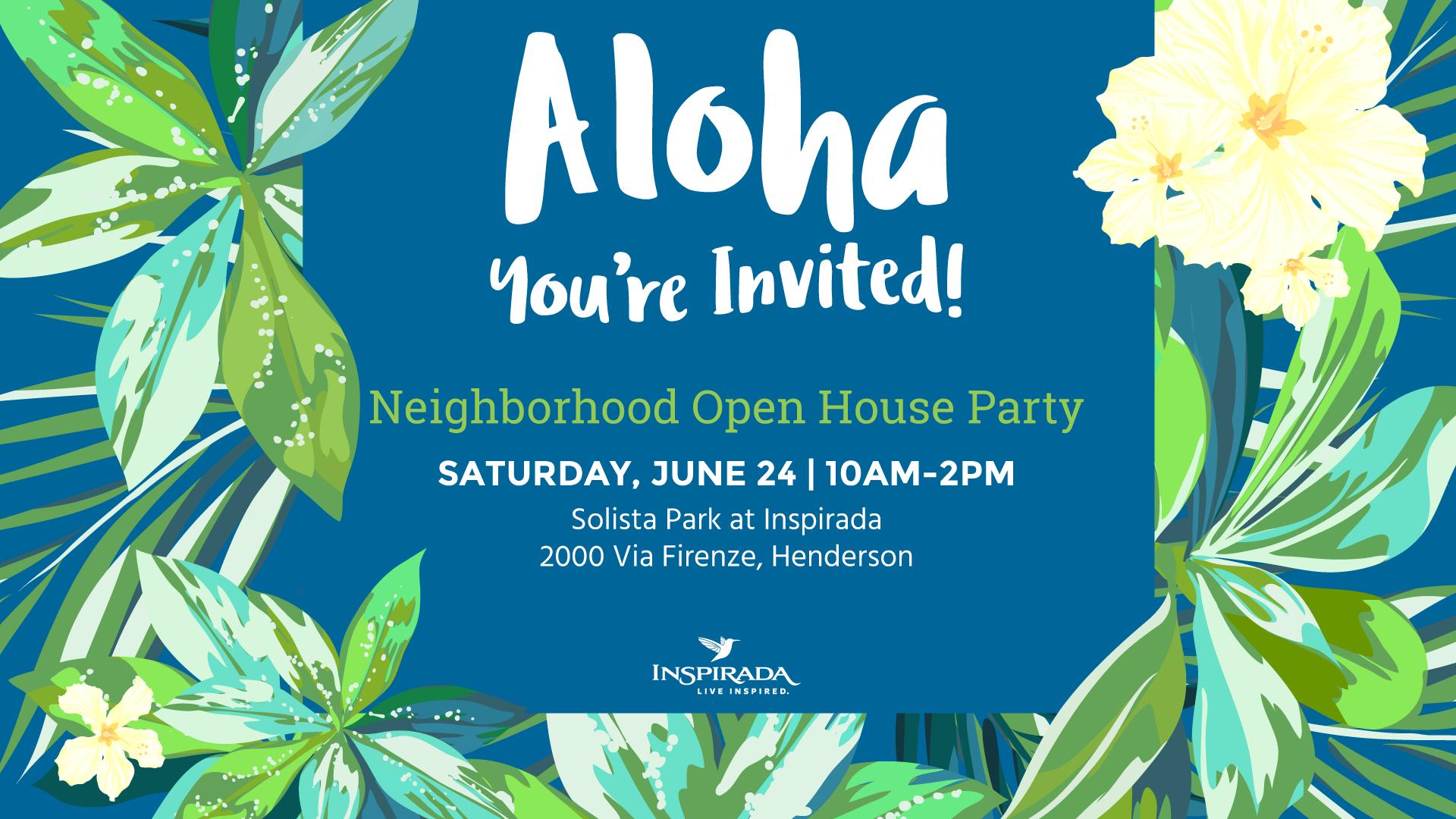 aloha house party