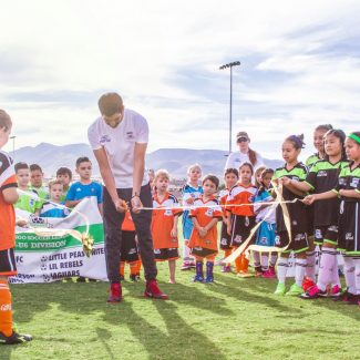 ribbon cutting for durango soccer league