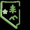 nevada icon green