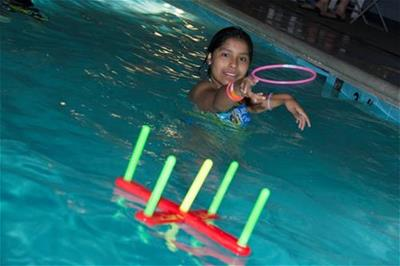 Enjoy fun and games during Cosmic Swim