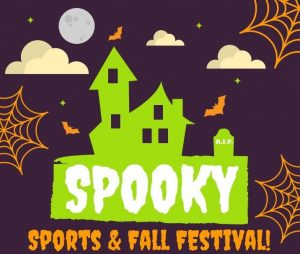 The Spooky Sports & Fall Festival will feature a volleyball tournament and activities for the entire family