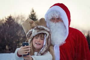 Phot0s with santa event