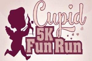 Logo for Cupid's 5K Fun Run