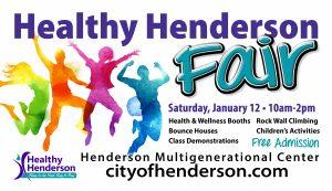 City of Henderson Health Fair event