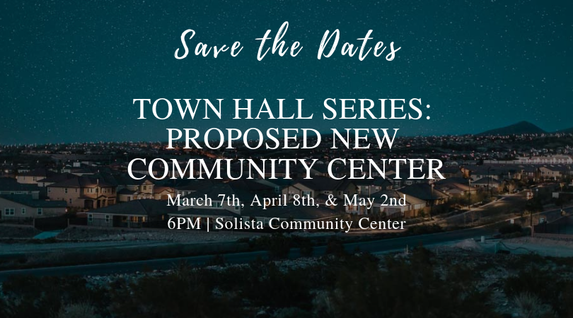 Town Hall Series event