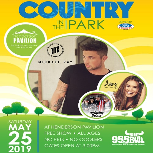 95.5 The Bull presents Country in the Park featuring Michael Ray