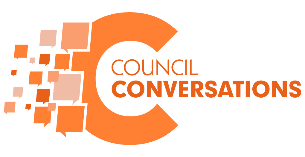 City of Henderson Council Conversations Logo
