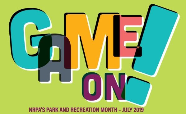 Game On for Parks and Recreation month