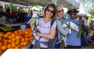 Inspirada residents love spending quality time at the market with their four-legged best friends