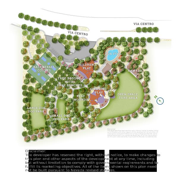 map of attesa park