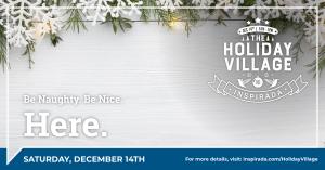 Holliday Village event flyer