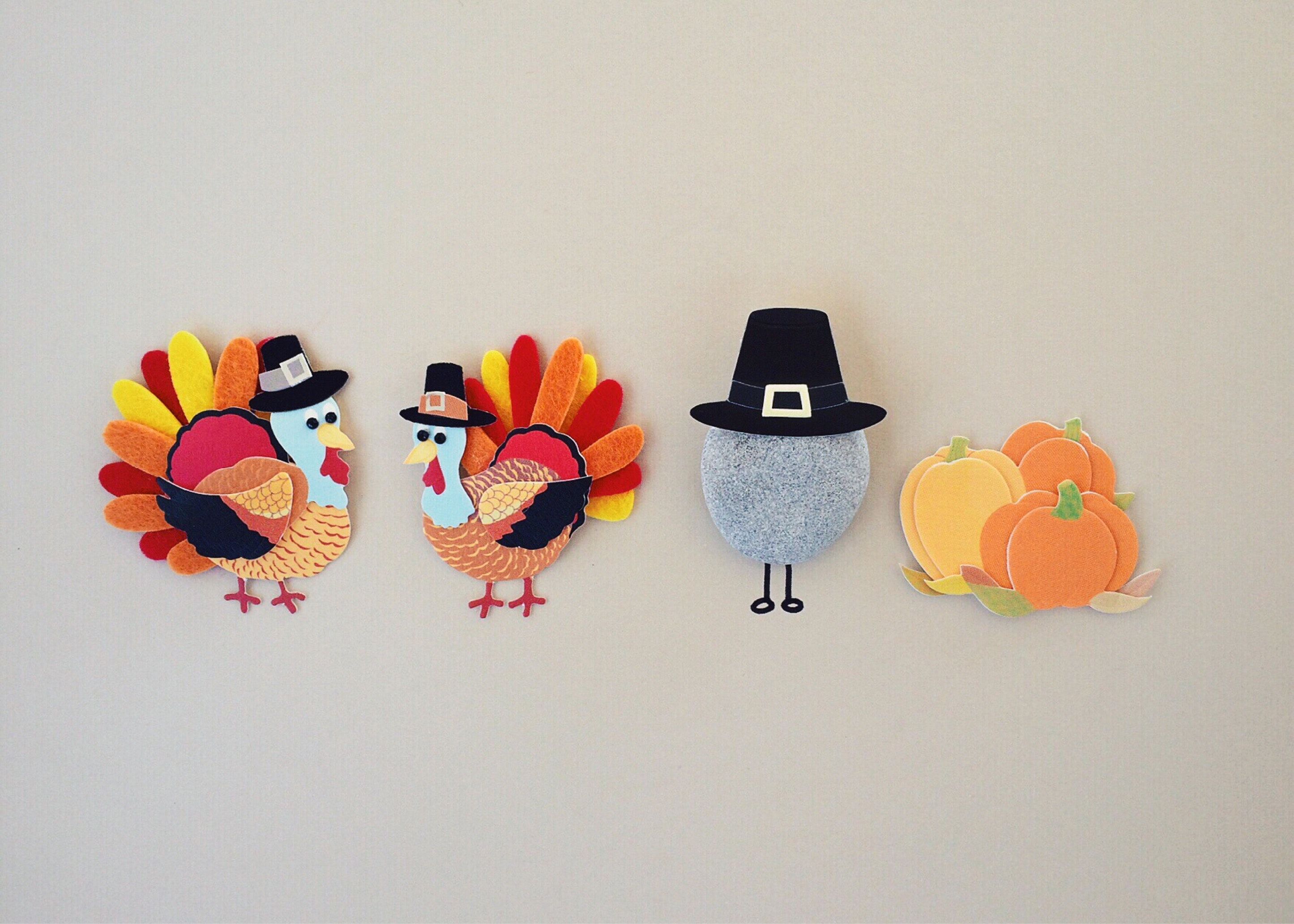 Thanksgiving crafts made during Henderson's Kids Night Out:Fanciful Fall Feast