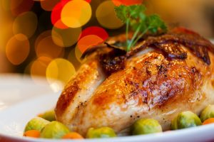 Enjoy a turkey dinner during the Thanksgiving Luncheon