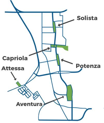 map of inspirada parks