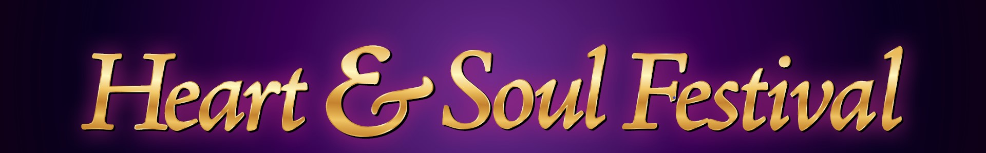 Banner for the Heart & Soul Festival